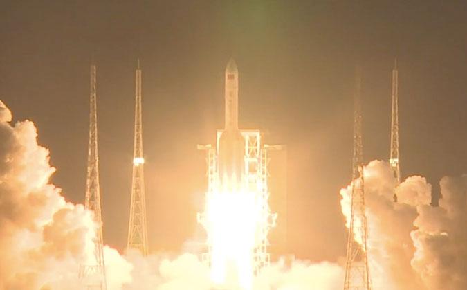 Кина неуспешно лансирала космичку ракету