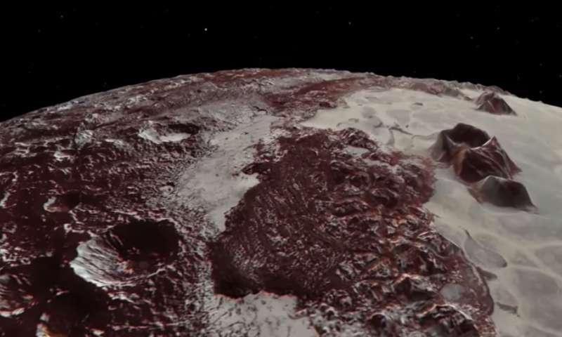 Наса објавила снимак на којем се види површина Плутона
