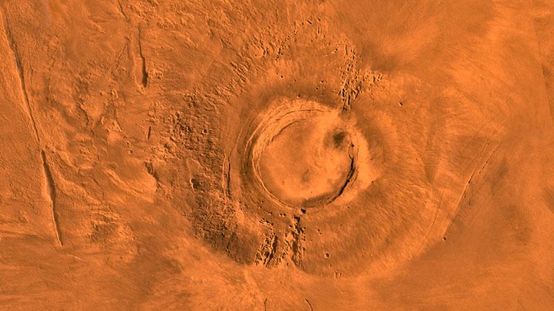 На Марсу постоје велике количине леда и воде