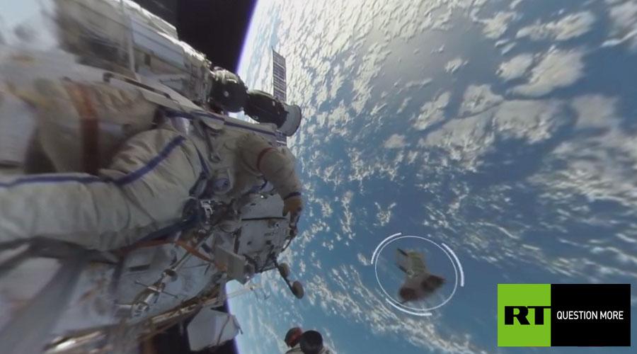 РТ представила први панорамски видео у отвореном космосу