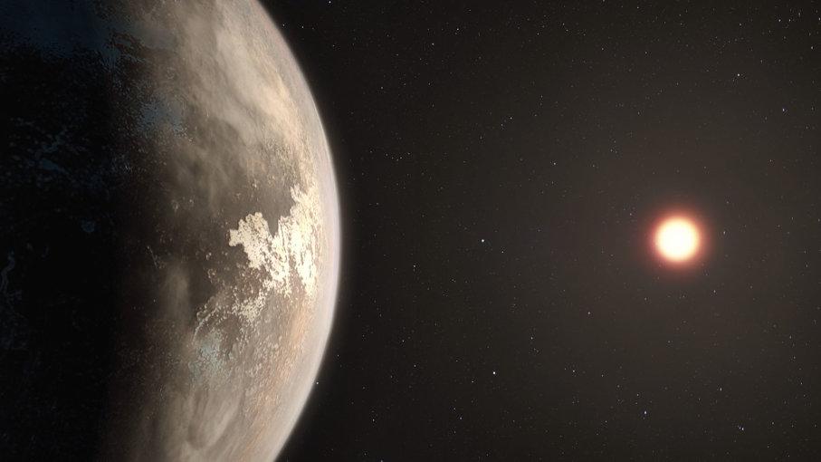 Планета Рос 128б има на својој површини воду
