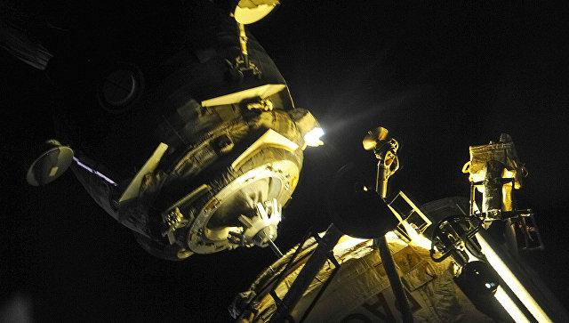 "Космички брод ""Соjуз"" пристао на Међународну космичку станицу"