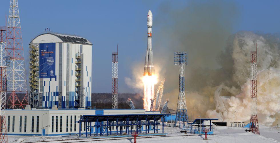 """Успешно лансирана космичка ракета-носач """"Сојуз 2.1б"""""""