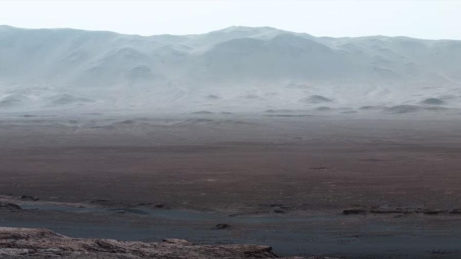 РТ: Панорама Марса