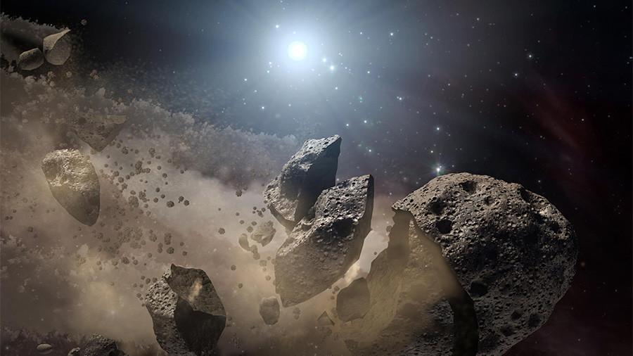РТ: Астероиди би могли чувати тајну живота на Земљи