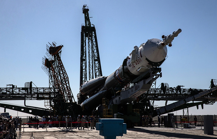 """Лансиран """"Сојуз"""" са новом посадом Међународне космичке станице"""