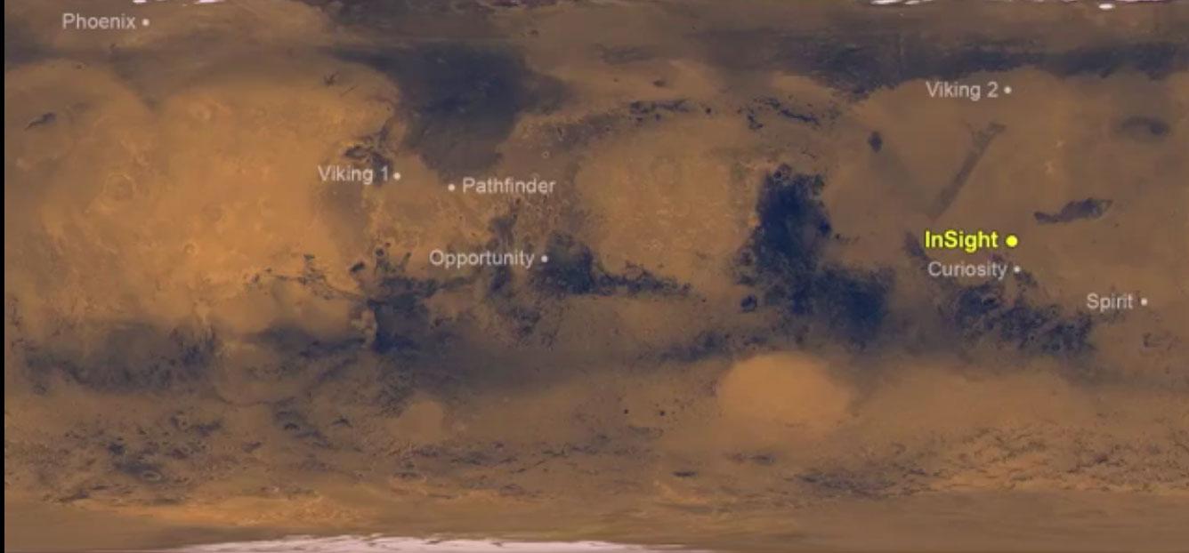 "НАСА: ""Марс инсајт"" слетео на Марс"
