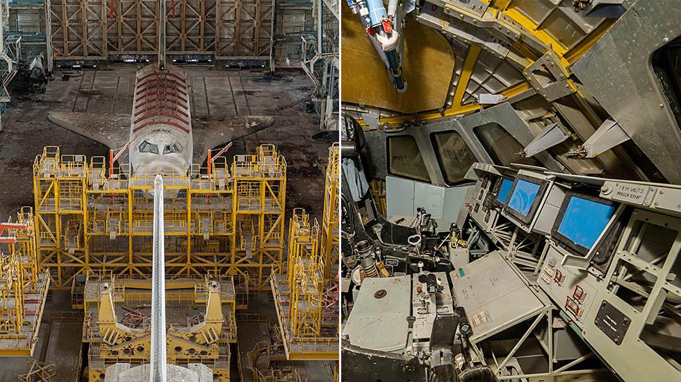 """РТ: Истраживачи-аматери се ушуњали у легендарни космички брод """"Буран"""""""