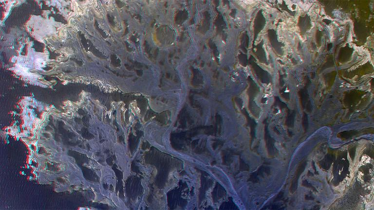 РТ: Нова фотографија Марса приказује делту реке која је некада текла по површини