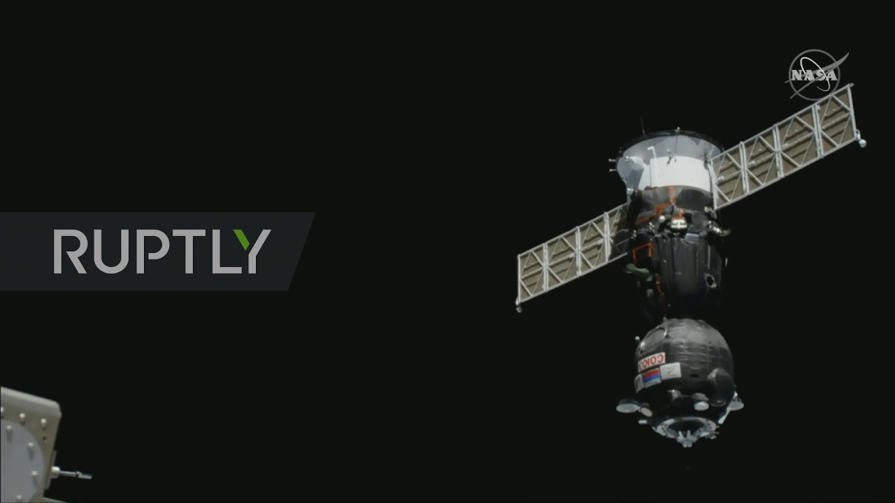 Сојуз пристао на Међународну космичку станицу