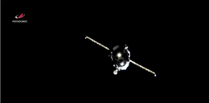 """""""Прогрес"""" пристао у ручном режиму на Међународну космичку станицу"""