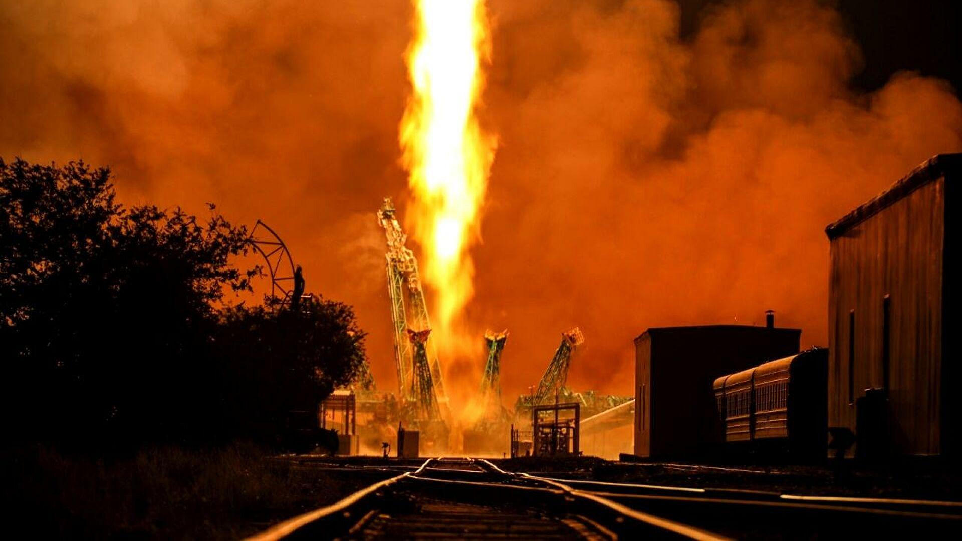 "Vazdušno-kosmičke snage Rusije uspešno lansirale ""Sojuz"" sa satelitom"