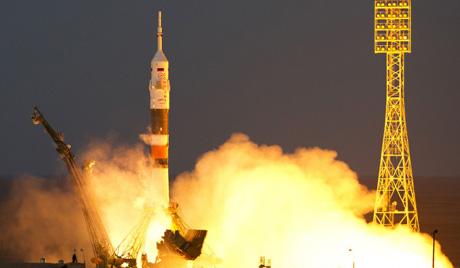 Са Бајконура лансирана ракета носач ''Сојуз''