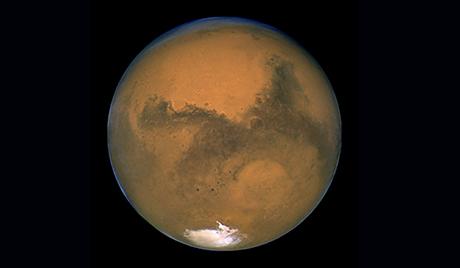 Марс може да се судари са кометом