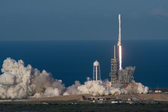 Космичка ракета од рециклираног материјала