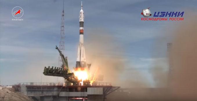 "Лансирана носач-ракета ""Сојуз-ФГ"" са космодрома ""Бајконур"""