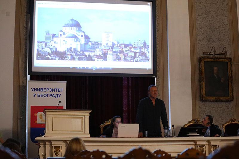 Предавање Мухина: Историја пројекта мозаичног уређења Храма Светог Саве