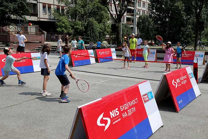 Организована бесплатна школа тениса за децу поводом Светског дана животне средине