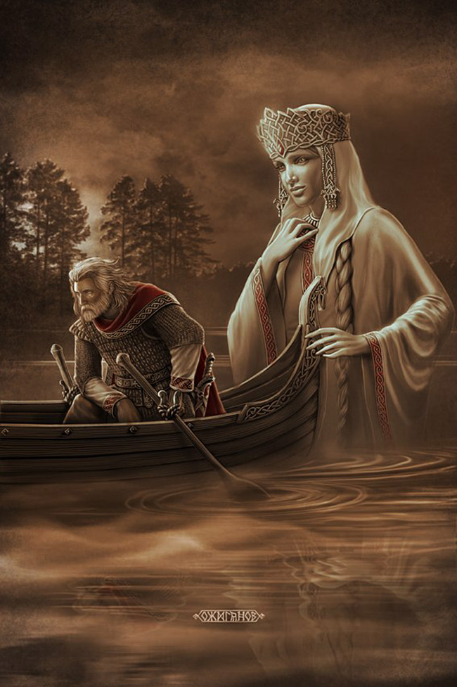 """Само што не проговоре: Човек који """"враћа у живот"""" словенска божанства"""