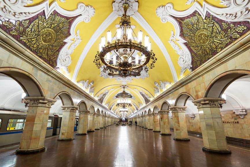 Десет чињеница и московском метроу