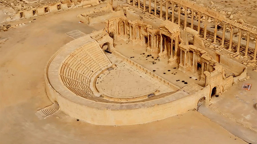 РТ: Русија представила 3D модел Палмире како би се помогла обнова древног града
