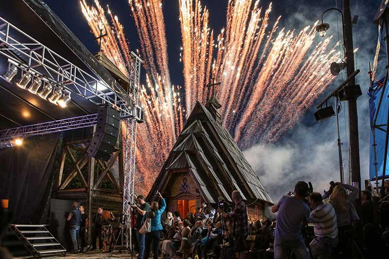 """Svečano otvoren šesti muzički festival """"Boljšoj"""" uz podršku """"Gasprom njefta"""""""
