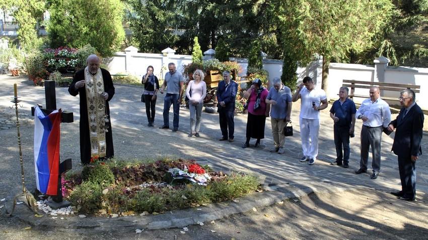 Србски гроб руског официра: Руски историчари на ходочашћу у знак сећања на Николаја Рајевског