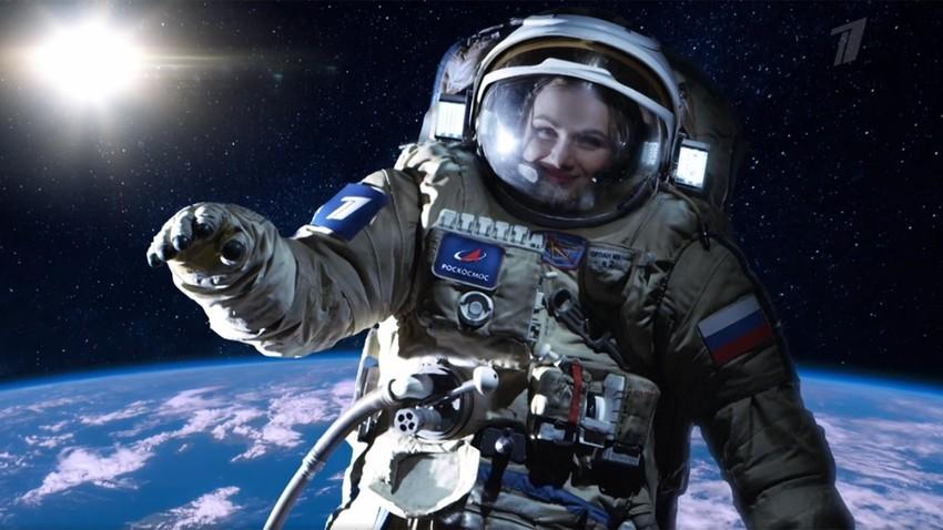"""""""Роскосмос"""" снима филм на Међународној космичкој станици"""