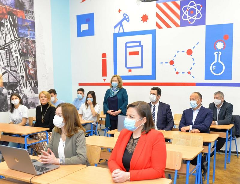 Уз подршку НИС-а отворен кабинет за руски језик у Шабачкој гимназији