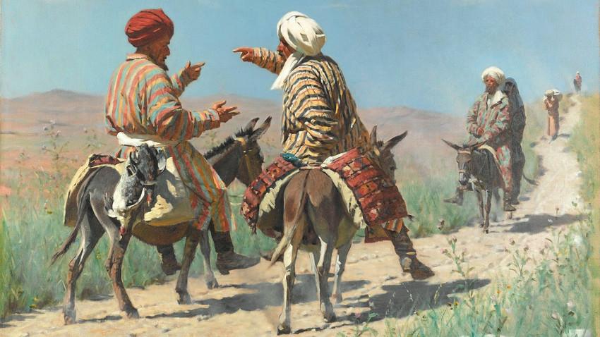 Istok i Azija na platnima ruskih slikara