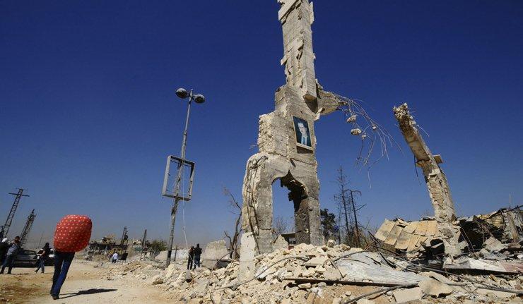 Скоро 300 историјских објеката уништено у конфликту у Сирији