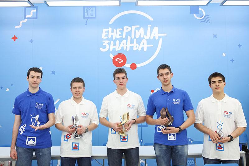 Одржана пета Србска физичка олимпијада уз подршку НИС-а