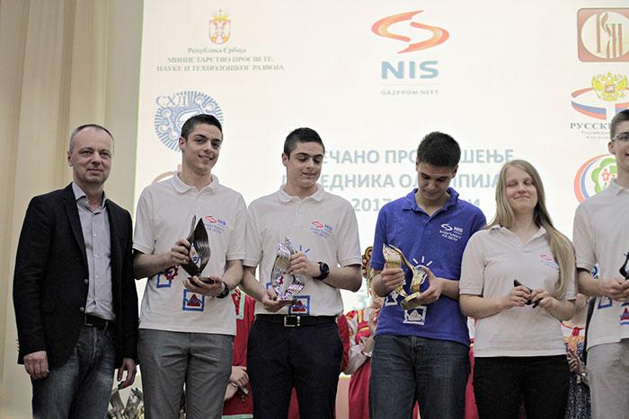 Проглашени победници Олимпијаде знања из руског језика, физике, хемије и математике
