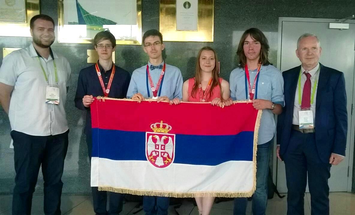 Четири медаље за србски тим на Међународној олимпијади из хемије уз подршку НИС-а