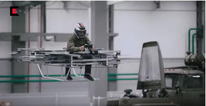 """""""Калашњиков"""" демонстрирао """"летећи аутомобил"""""""