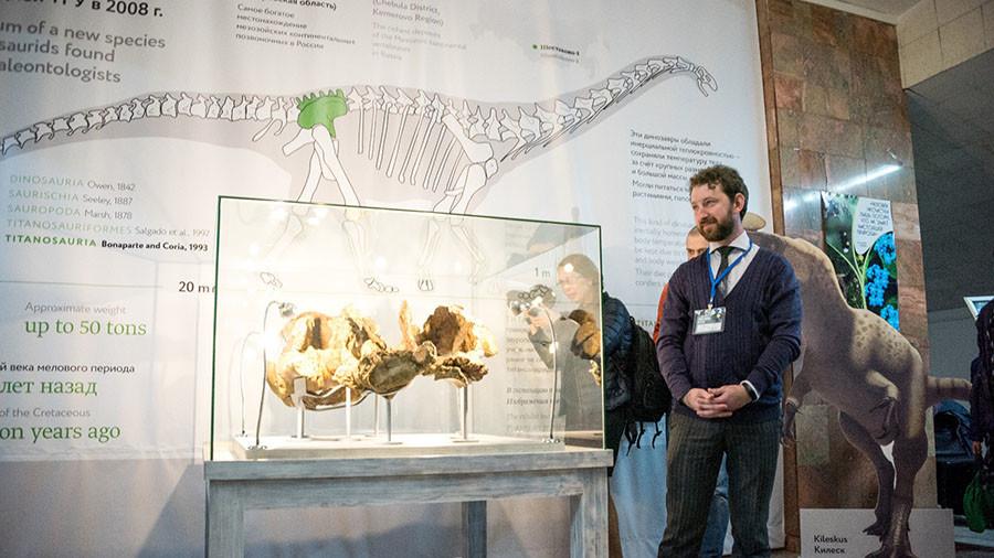 РТ: Руски научници открили нову врсту диносауруса - сибирски титан