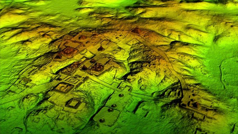 Пронађене грађевине и рушевине из времена Маја у прашуми у Гватемали