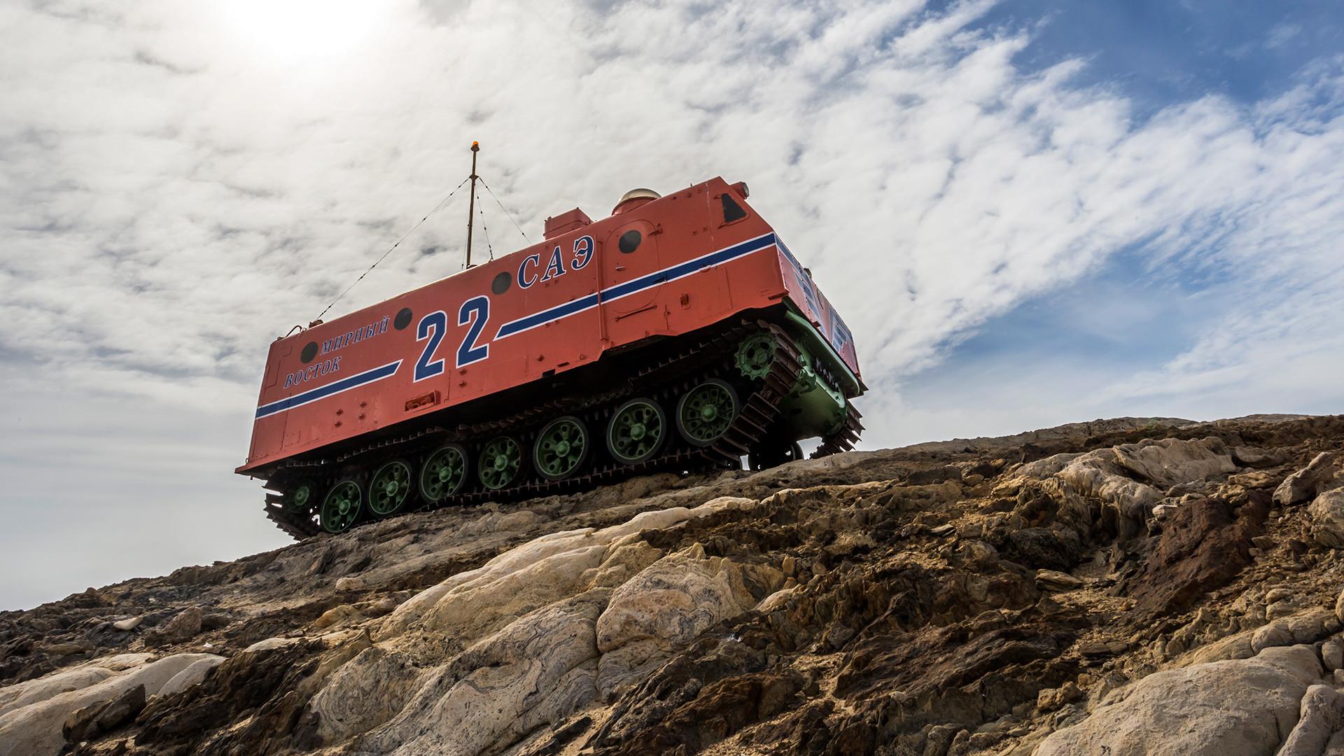 Kako su sovjetska terenska vozila osvajala Južni pol