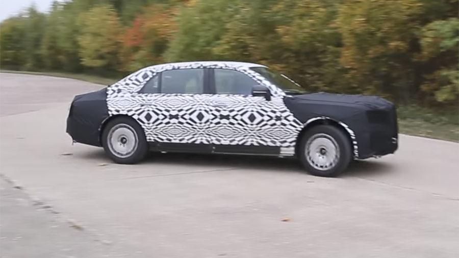 РТ: Аутомобил за председника Русије прошао тестове