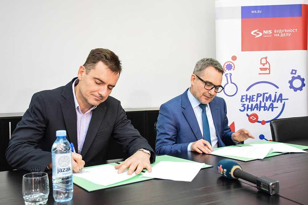 Компанија НИС и Економски факултет у Суботици потписали Меморандум о сарадњи