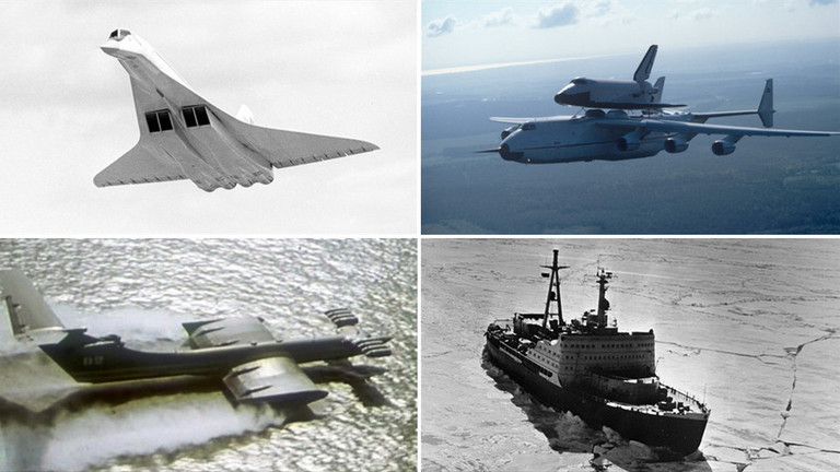 """РТ: Од """"Бурана"""" до """"Каспијског чудовишта"""": Пет епских совјетских пројеката"""