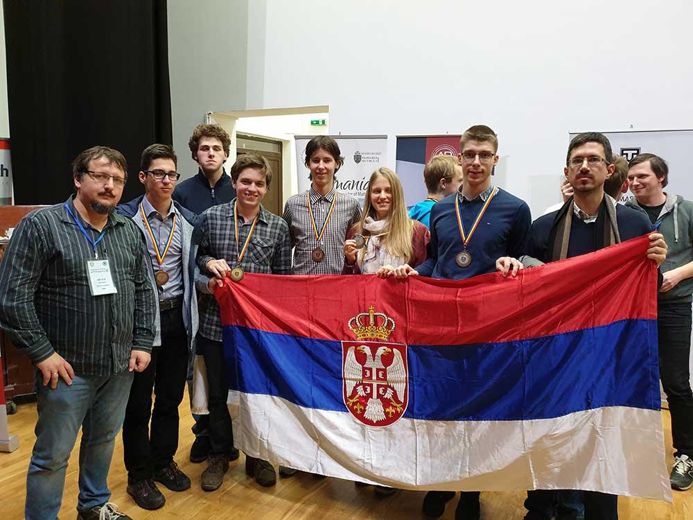 Млади математичари освојили пет медаља у Букурешту