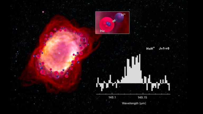 RT: Prvi molekul univerzuma otkriven u umirućoj zvezdi