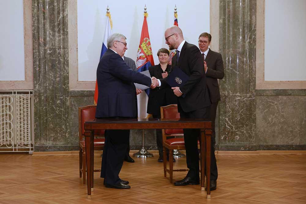 НИС потписао Меморандум о сарадњи са престижним руским МГИМО универзитетом