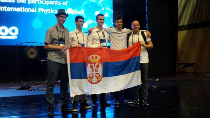 Пет медаља за младе физичаре на Међународној олимпијади у Тел Авиву