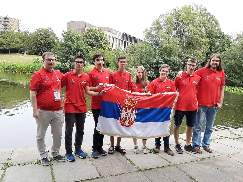 Три злата за српске математичаре у Бату