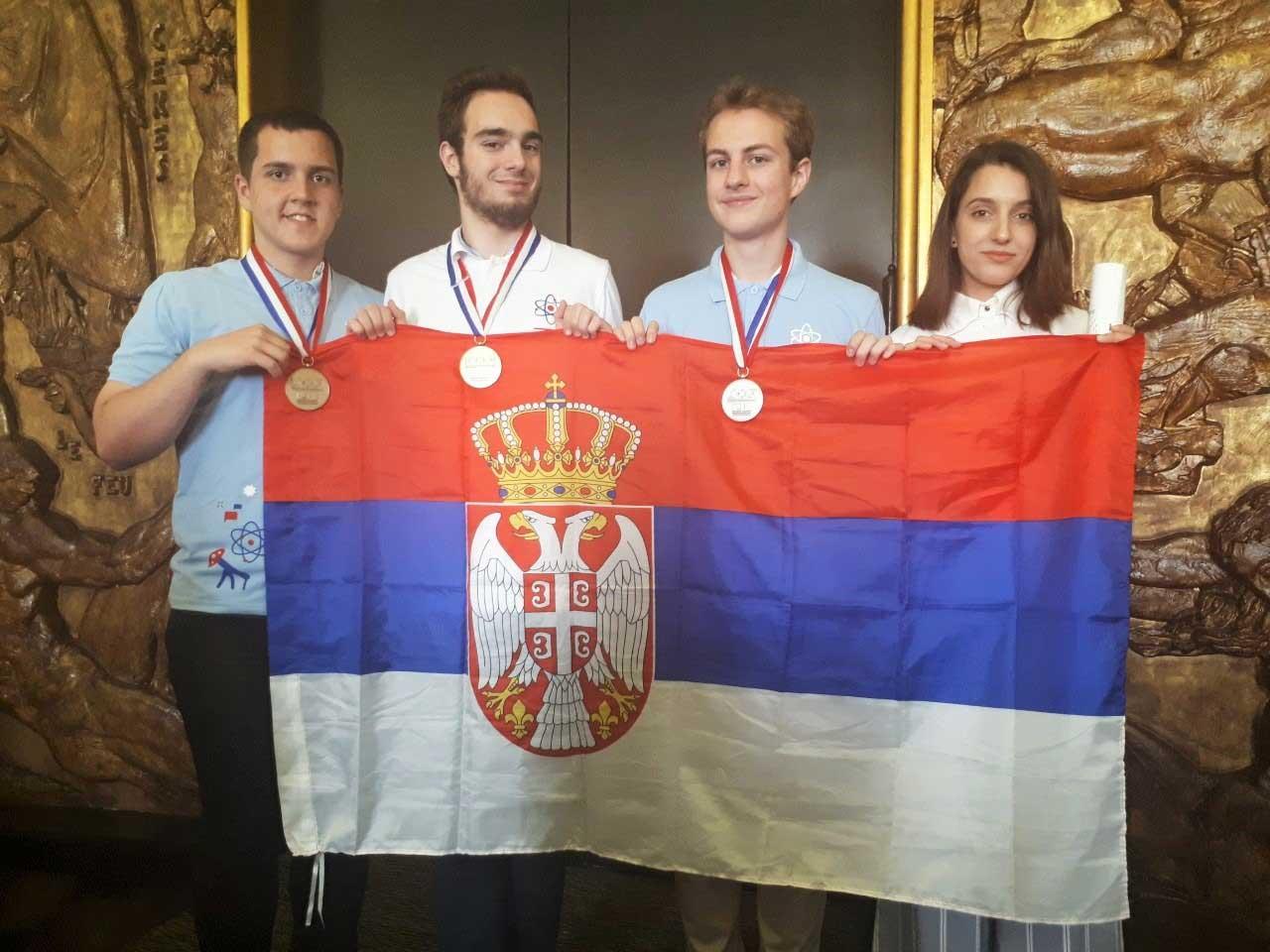 Велики успех србских хемичара на Међународној олимпијади уз подршку НИС-а