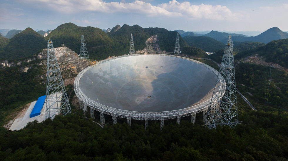 РТ: Поруке из других светова? Тајанствени радио сигнал откривен високотехнолошким кинеским телескопом