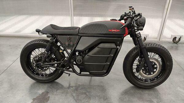 """""""Калашњиков"""" представио електрични мотоцикл"""