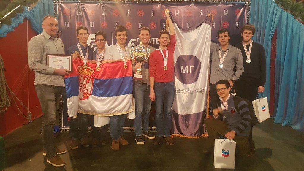 Шампиони знања - Математичка гимназија победник олимпијаде у Казахстану
